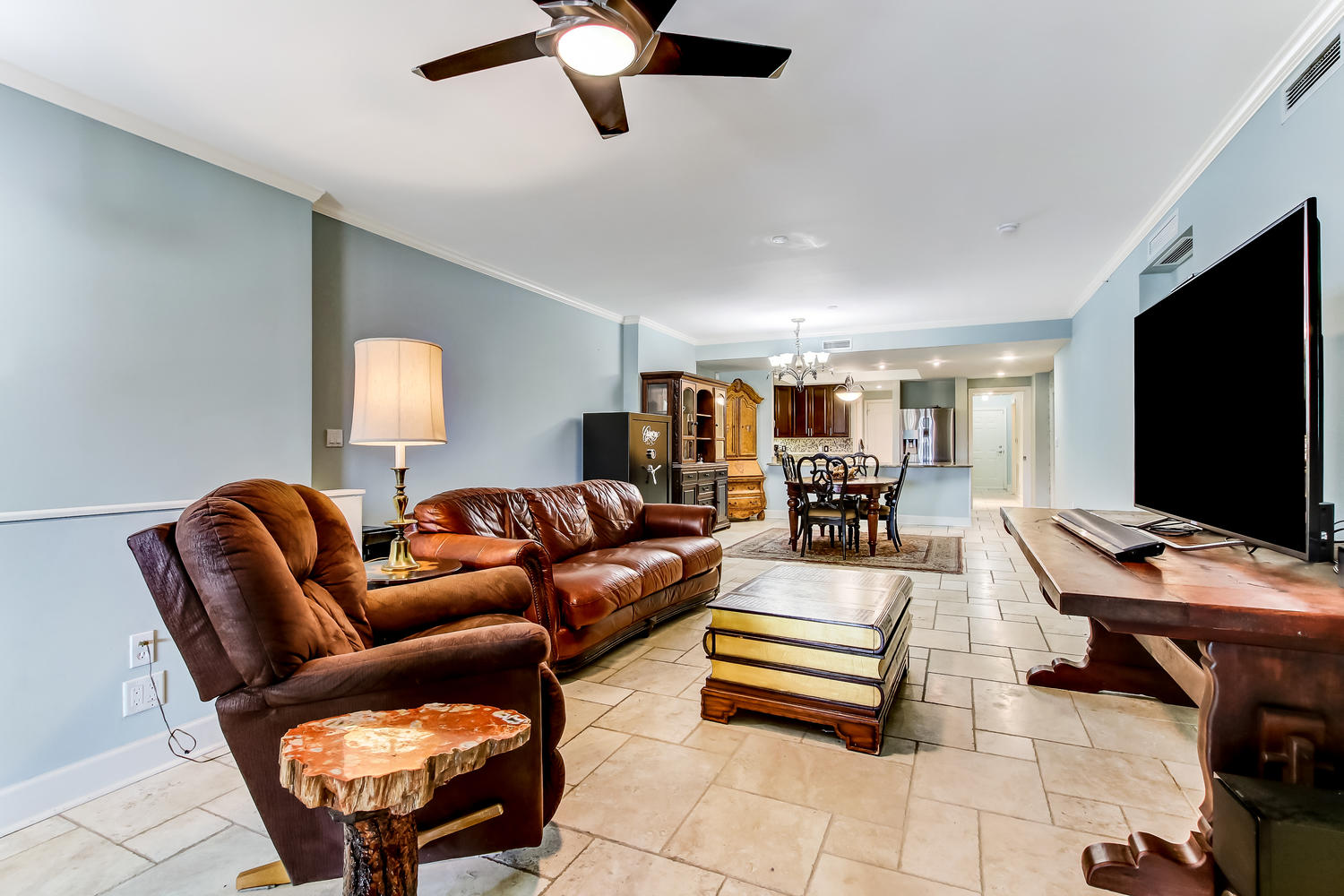 Combined Living and Dining Room